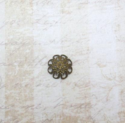 22592 Крепёжная шапочка К10,d-13 мм, 8шт.,бронза