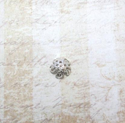 22593 Крепёжная шапочка К11,d-10 мм, 10шт.,серебро