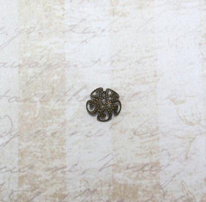 22594 Крепёжная шапочка К12,d-10 мм, 10шт.,бронза
