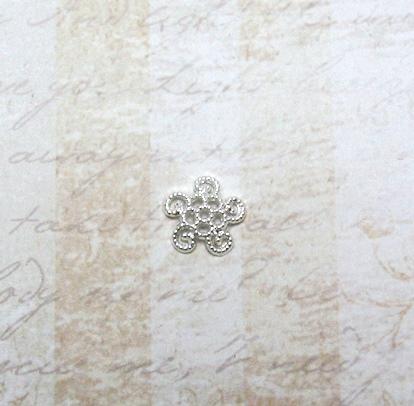 22603 Крепёжная шапочка К21,d-12 мм, 16шт.,серебро