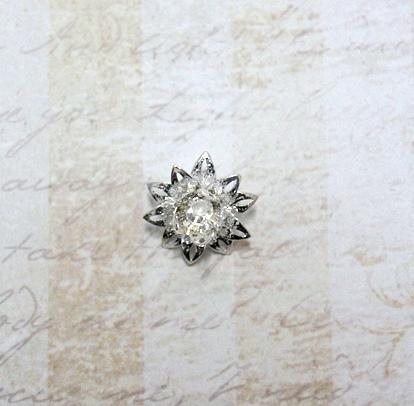 22605 Крепёжная шапочка К23,d-18 мм, 3шт.,серебро