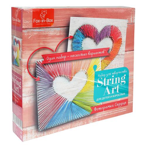 FB606311 Набор для творчества Стринг Арг 'Фоторамка Сердце'