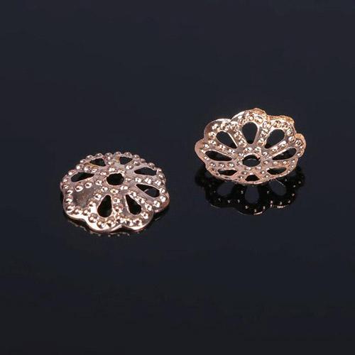1514810 (СМ-008) Шапочки для бусин упак/100шт, цвет золото