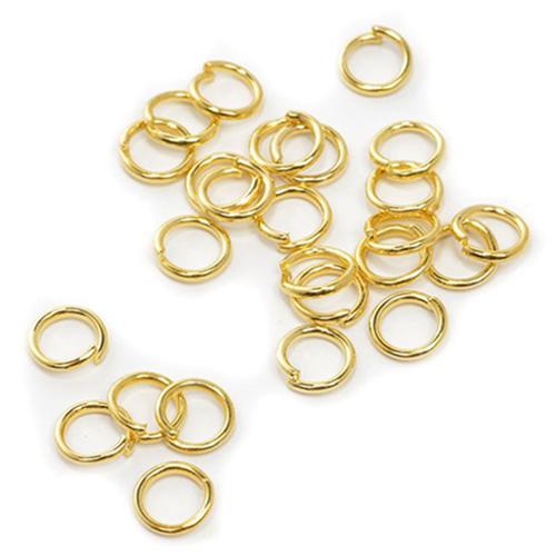 TBY.RG1.06.05 Кольцо соединительное 6 мм цв.золото уп.50шт