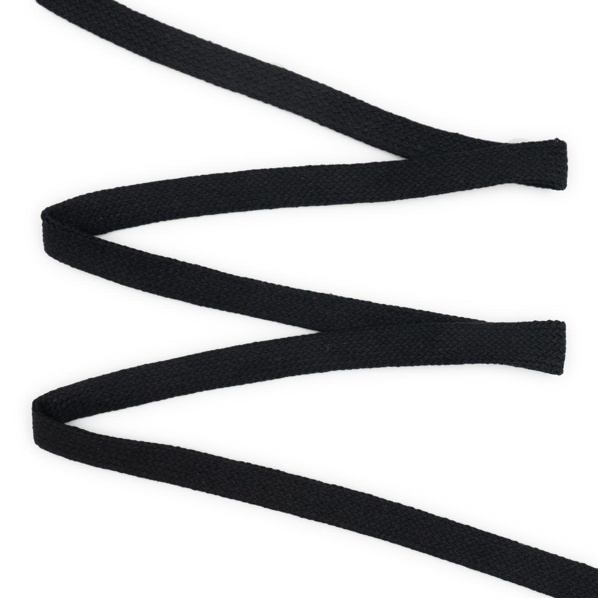 07-4300 Шнур плоский плетеный 15мм *75м х/б (ГР)