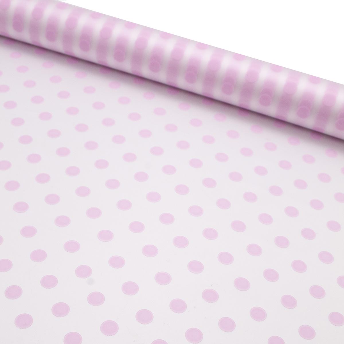 69820 Пленка матовая Бисер 70см*10м светло-розовый фото