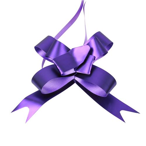 2947891 Бант-бабочка №1,8 голография, фиолетовый