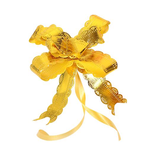 2947934 Бант-бабочка №1.8 желтый