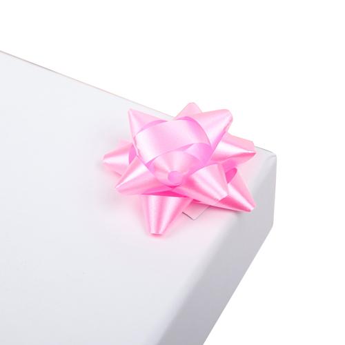 2951975 Бант-звезда №3,5 упак/8шт, розовый