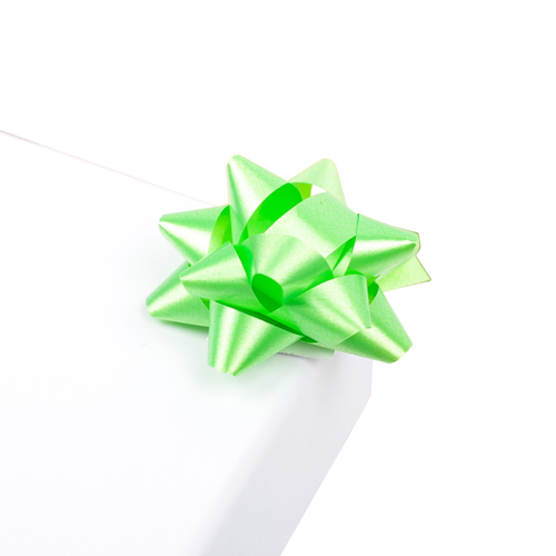 2951976 Бант-звезда №3,5 упак/8шт, зеленый