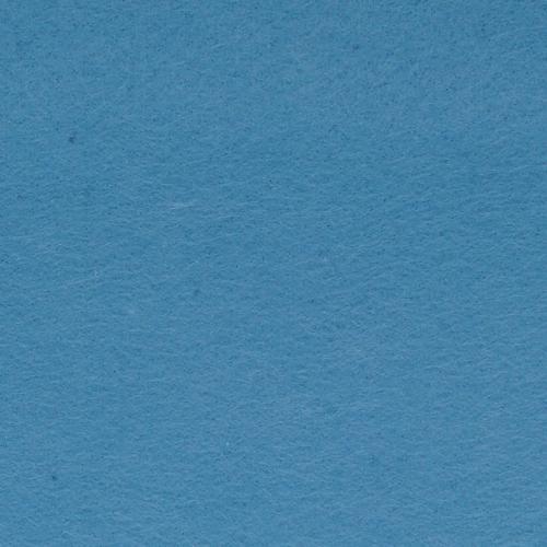26931 Фетр жёсткий 2,0мм, 20*30см, 100% п/э, упак/2шт, голубой