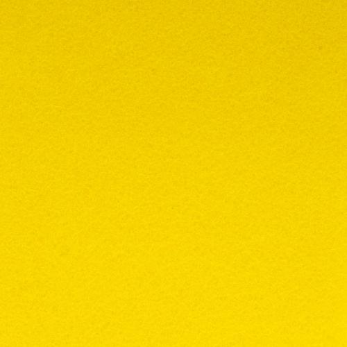 26937 Фетр жёсткий 2,0мм, 20*30см, 100% п/э, упак/2шт, жёлтый