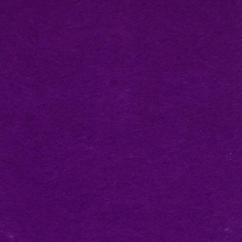 26941 Фетр жёсткий 2,0мм, 20*30см, 100% п/э, упак/2шт, фиолетовый