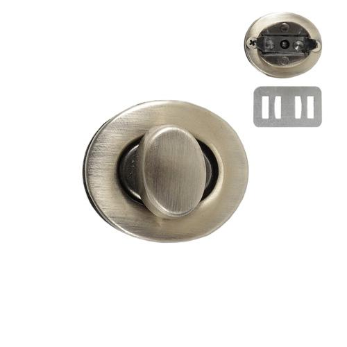 PX039 Застежка поворотная 28*24мм, антик (7621)