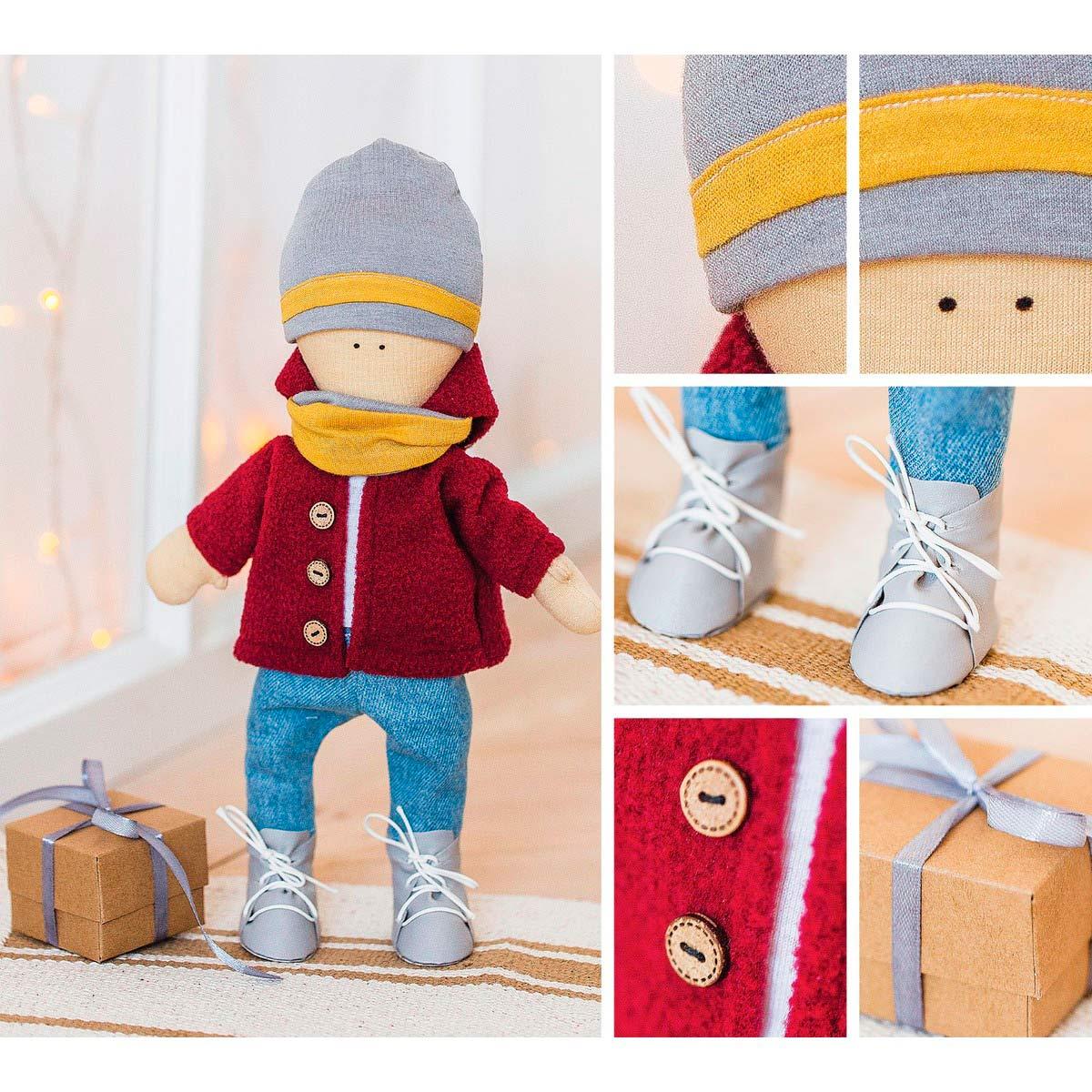 3299335 Интерьерная кукла «Том», набор для шитья, 18,9*22,5*2,5 см