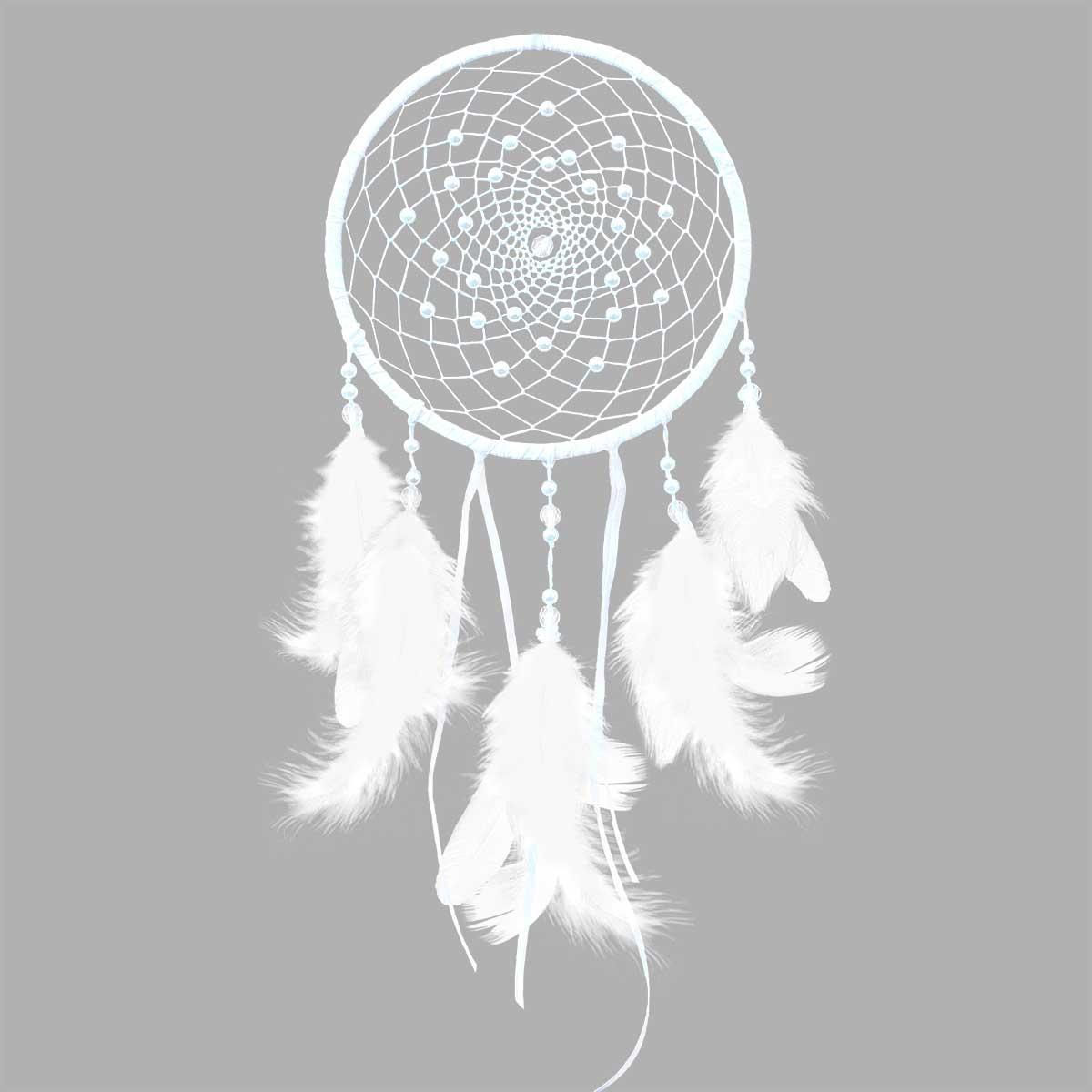 ЛС-04 Набор для творчества Созвездие 'Жемчужина'(ловец снов)15х33 см