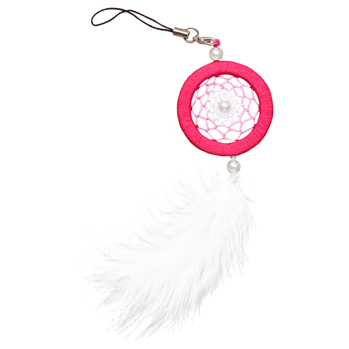 ЛС-13 Набор для творчества Созвездие 'Розовый топаз'(ловец снов) 4х12 см