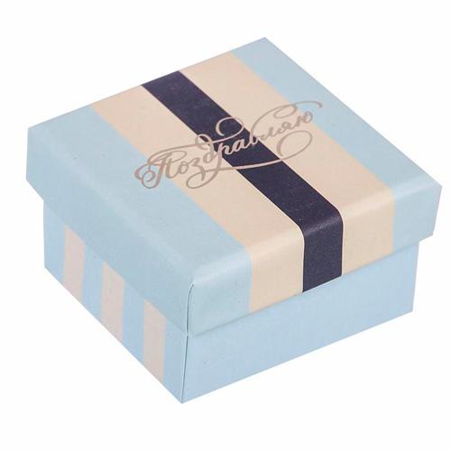 2725347 Подарочная коробочка «Брызги шапманского», 5 * 5 * 3,5 см