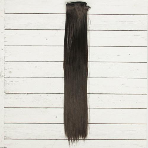 2294394 Волосы - тресс для кукол 'Прямые' длина волос 40 см, ширина 50 см, №3