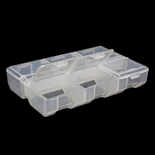К-178 Контейнер для мелочей прозрачный 9*6*1,8см
