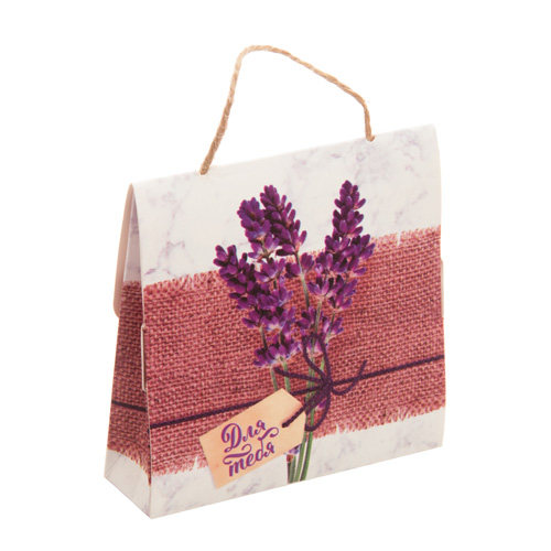 2899086 Коробочка-бонбоньерка складная «Подарок для тебя», 9*9*2,5 см