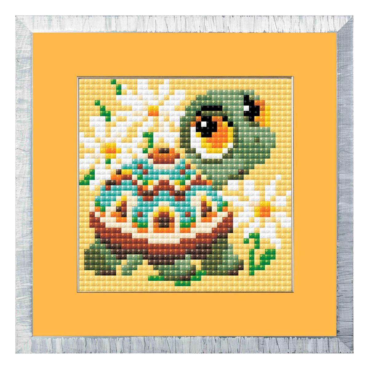 AM0020 Набор алмазной мозаики Риолис «Черепашка» 10*10см фото