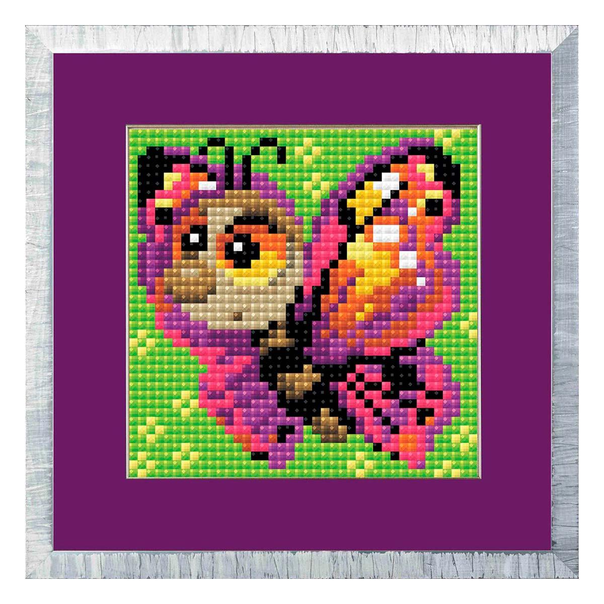 AM0022 Набор алмазной мозаики Риолис «Бабочка» 10*10см
