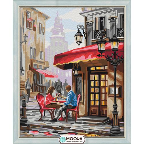 7С-0206 Картина по номерам 'Рандеву'