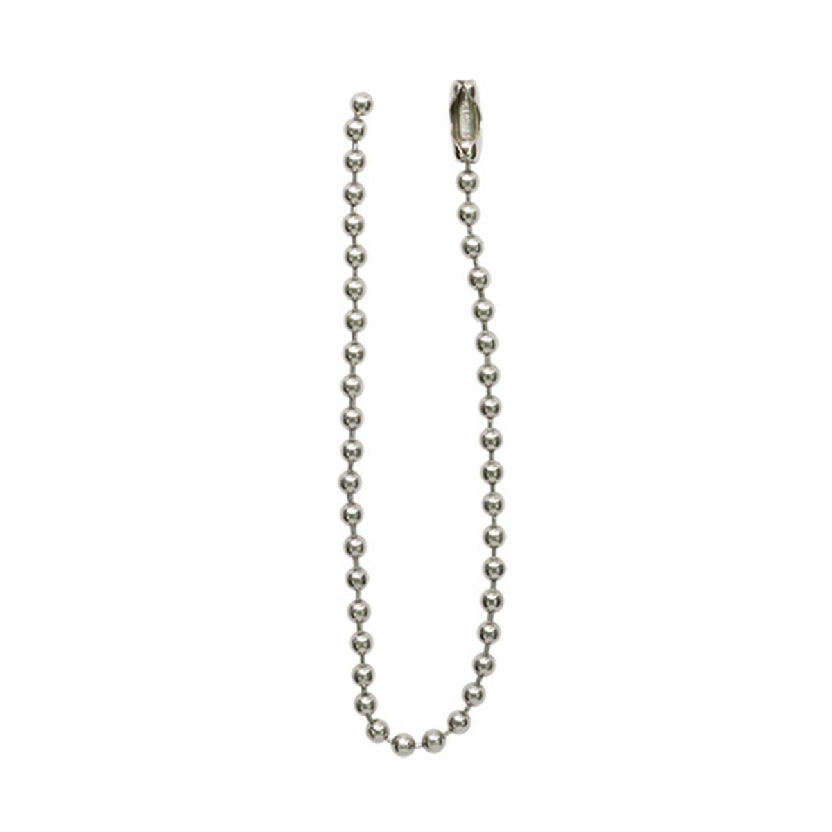 Мулька (цепочка шариковая) 0,2*10см (никель)