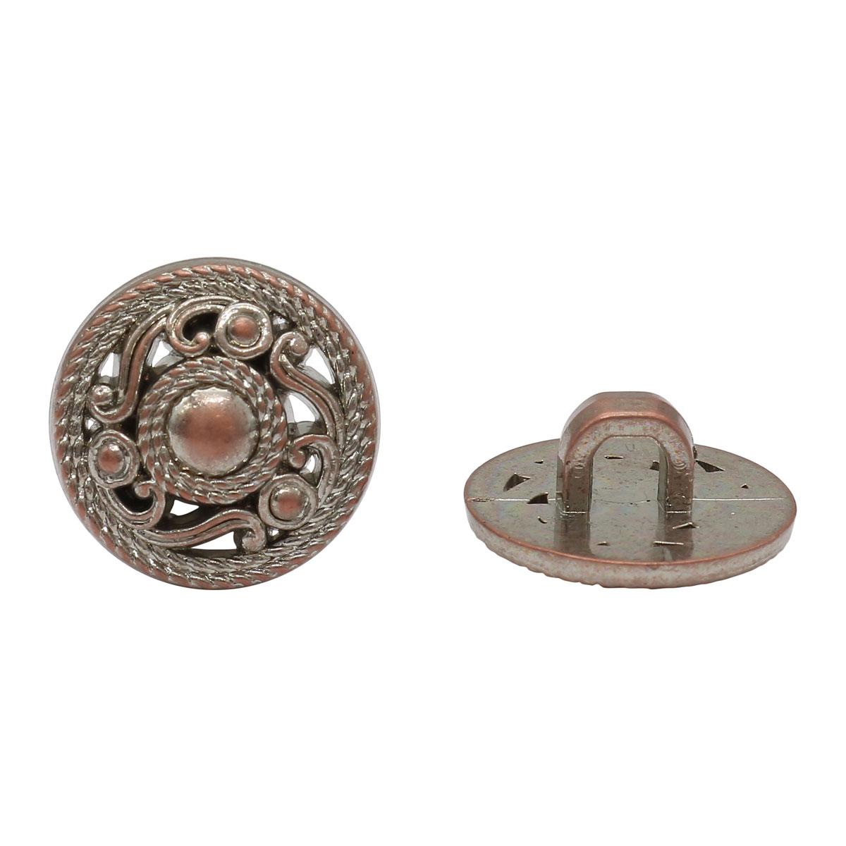 LA 1718 Пуговица 24L (W.Copper)