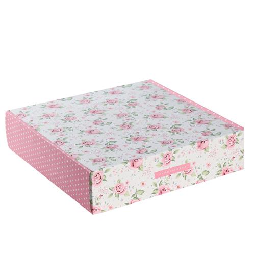 3923034 Складная коробка «И целого мира мало», 34.3*34.9*8.5 см