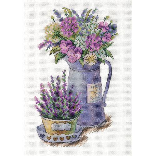 C-7125 Набор для вышивания PANNA 'Цветы Прованса' 17 * 25 см