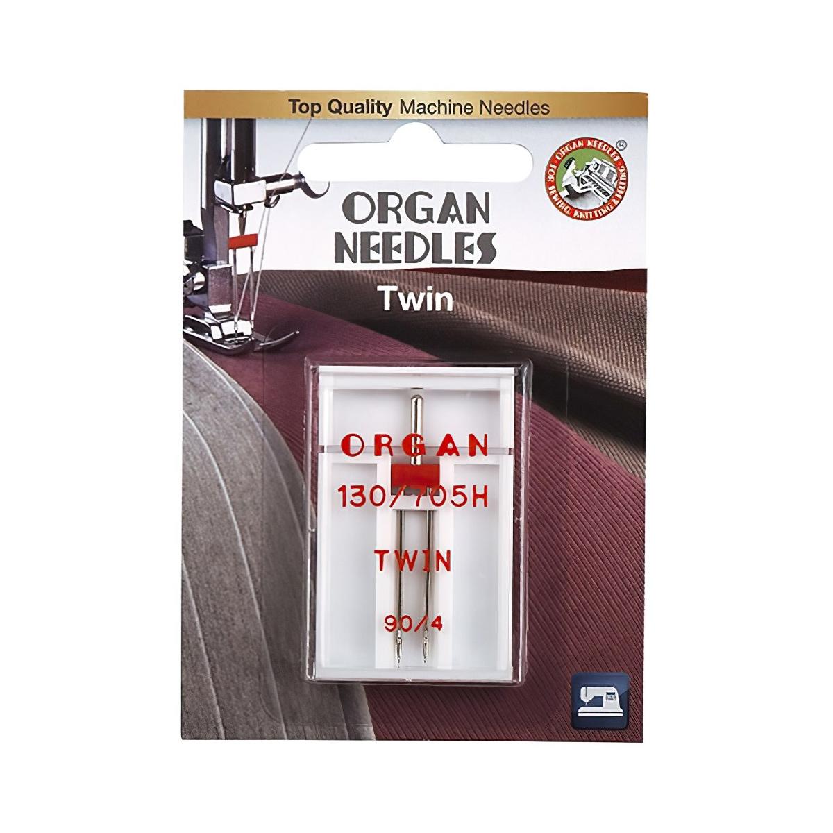 ORGAN иглы двойные 1-90/4 Blister