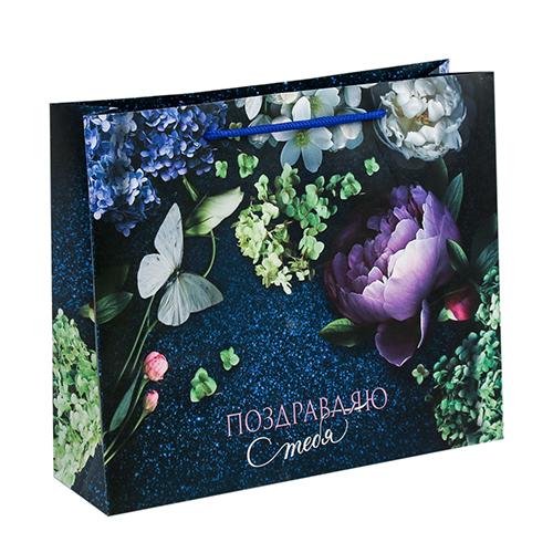 3680824 Пакет ламинированный горизонтальный «Аромат цветов», ML 27*23*8 см