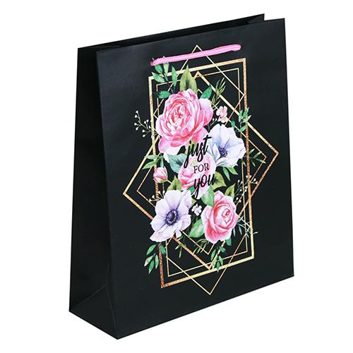 3680826 Пакет ламинированный вертикальный «Цветочный вихрь», MS 18*23*8 см