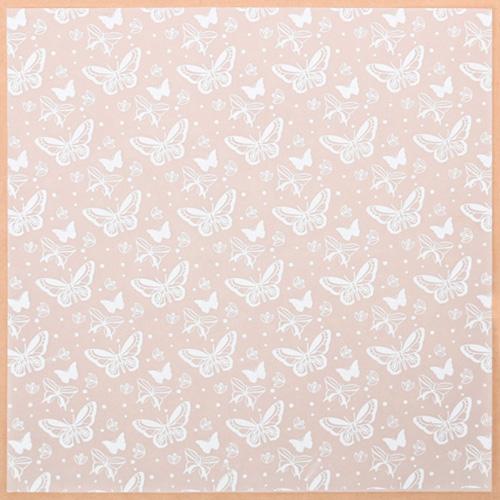 3735457 Калька декоративная «Бабочки» , 30.5* 30.5 см