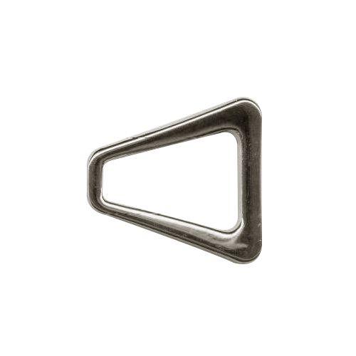 Пряжка треугольная (пластик) 04-13627