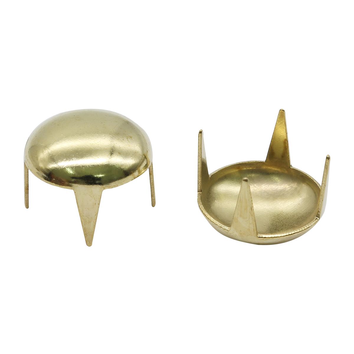 50845 Украшение д-12мм золот. с шипами