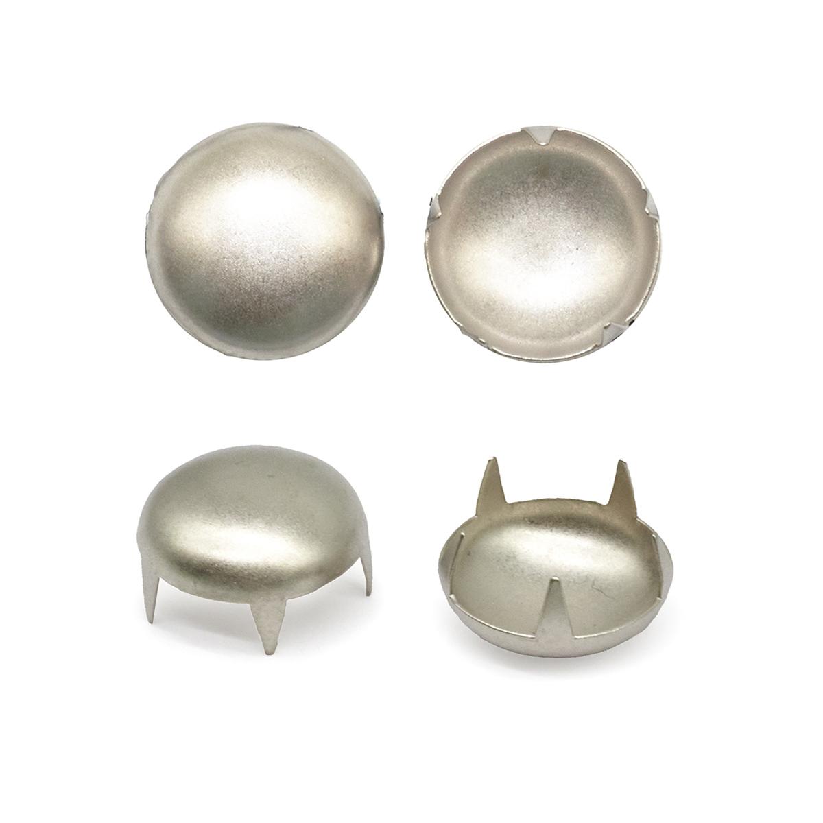 50839 Украшение д-15мм сереб. с шипами
