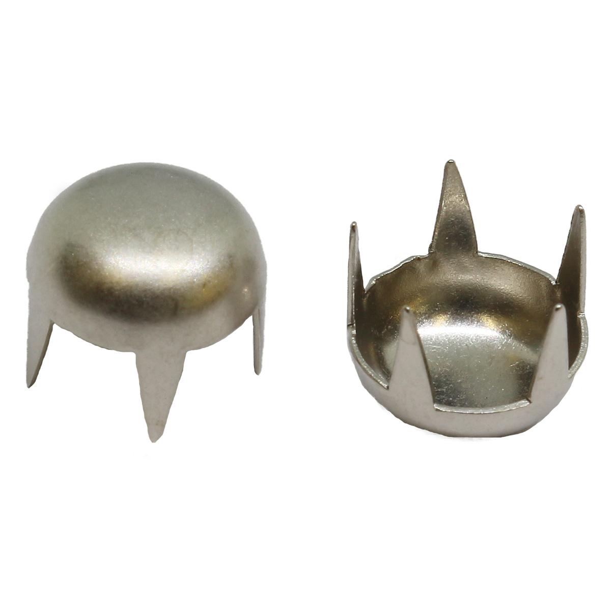 50830 Украшение д-9мм сереб. с шипами