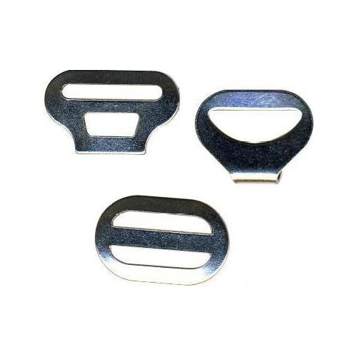 С-44 ВОС Крючок галстучный (3 части), никель