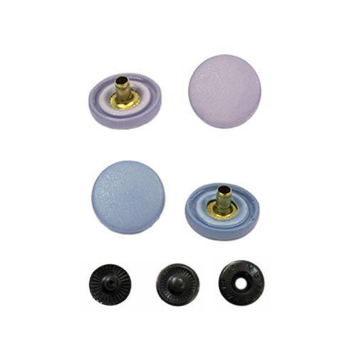 Кнопка курточная 'пружина', шляпка 15 мм, пластик, упак./100 шт.