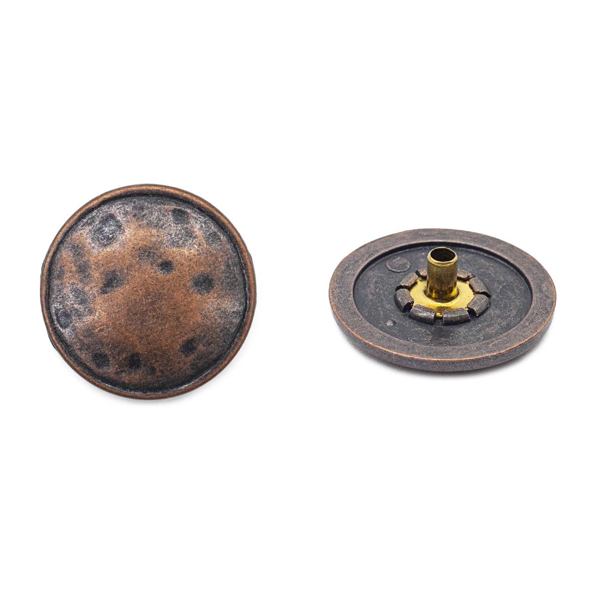 64363 Кнопка 5/22мм. т.медь ГР