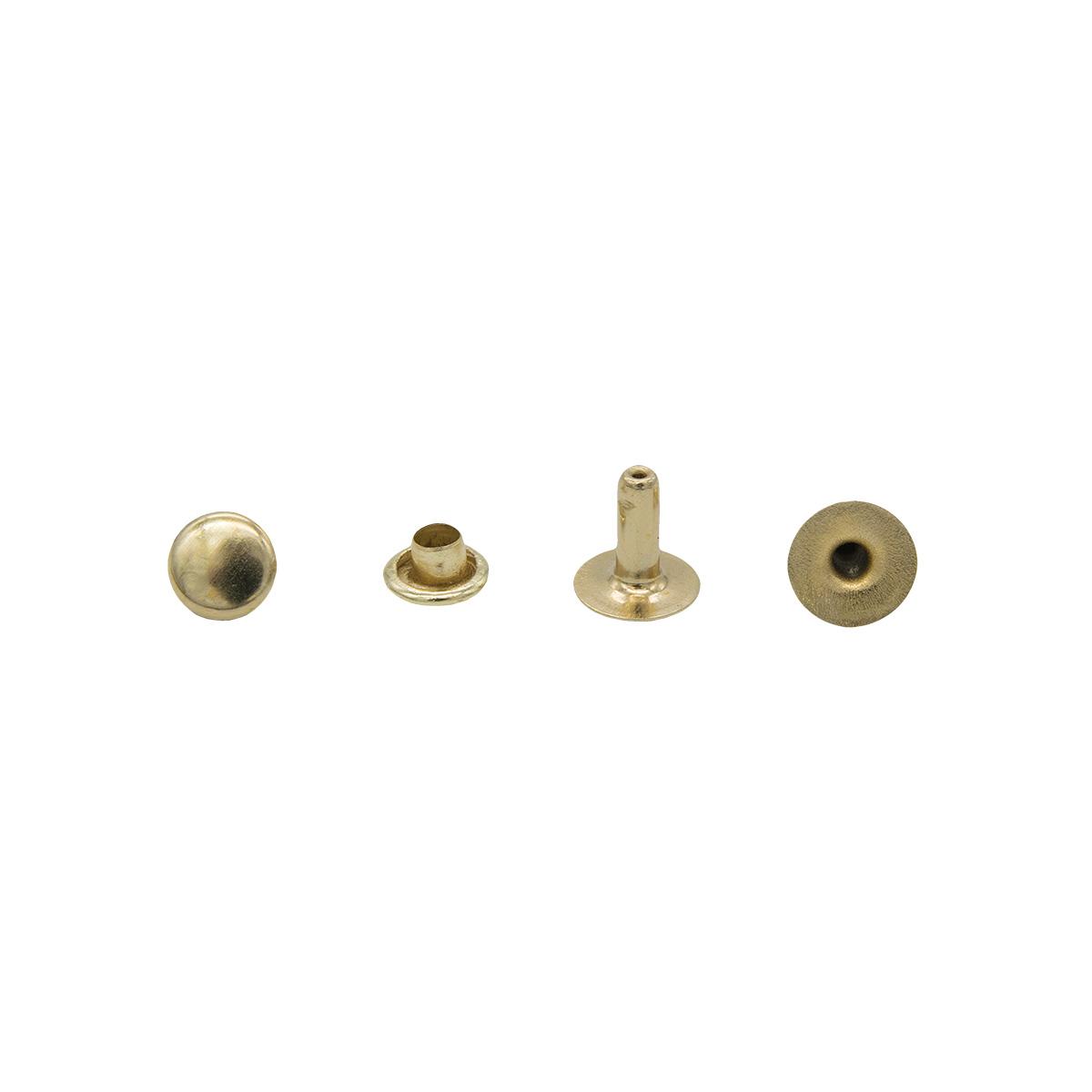 Хольнитен (6*6) 5мм (золото) фото