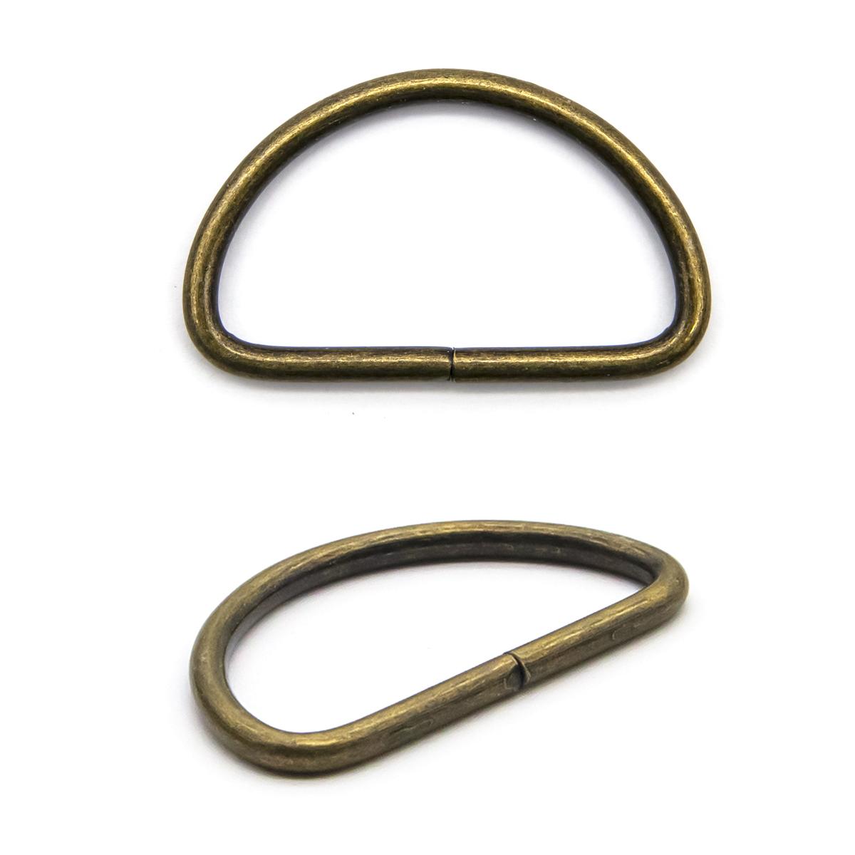 Полукольцо разъемное 816B-116, 38*20мм