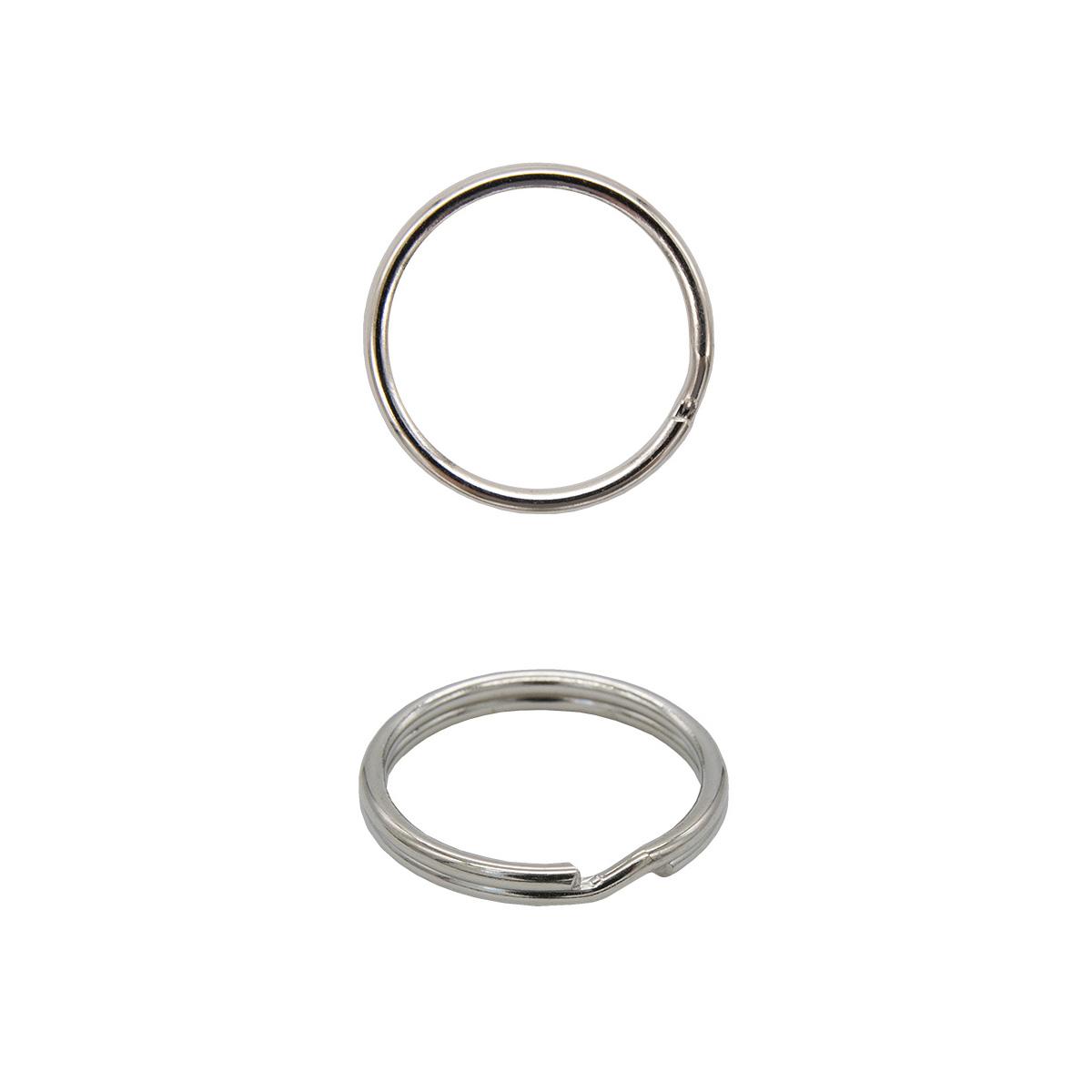 815-001 Кольцо для ключей, никель, 1,2*16 мм