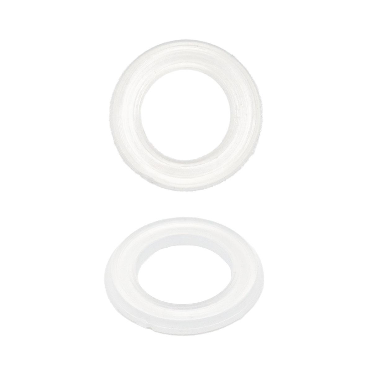 64777 Кольцо пласт. под люверс, д-5,5мм , д-6мм прозр.