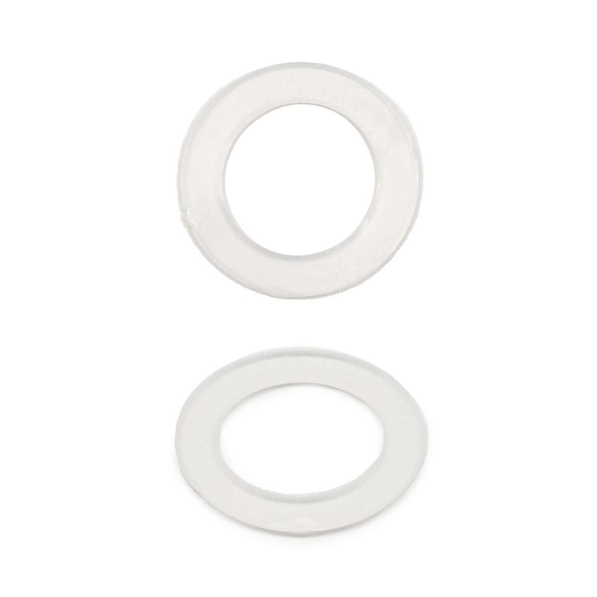64780 Кольцо пласт. под люверс, д-14,5мм, прозр. ГР