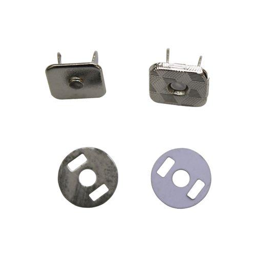 Кнопка магнитная 12мм квадр. 0326-1017