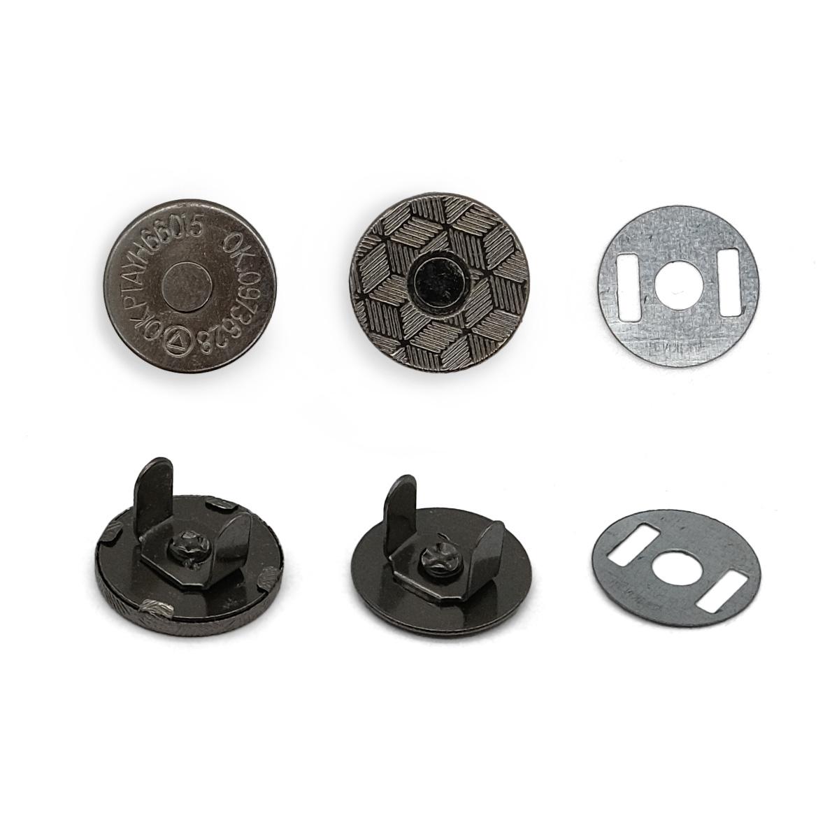 Кнопка магнитная 14мм 0326-1006